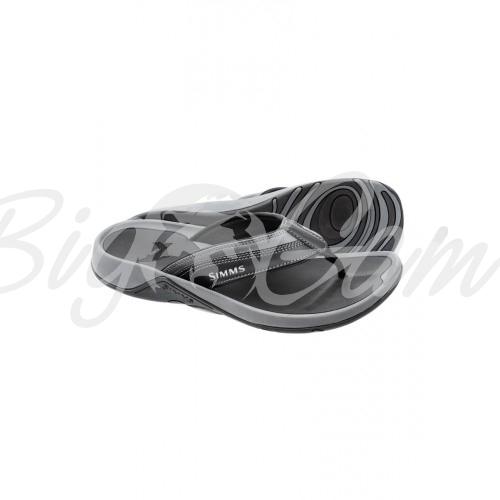 8b282ffa68ac Купить шлепанцы SIMMS Ebbtide Flip цвет Coal в интернет магазине ...