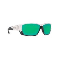 Очки COSTA DEL MAR Tuna Alley 580 P р. L цв. Crystal цв. ст. Green Mirror