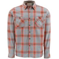 Рубашка SIMMS Black's Ford Flannel Shirt цвет Fury Orange Plaid