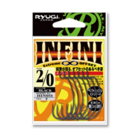 Крючок офсетный RYUGI Infini № 1 (8 шт.)