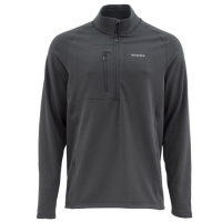 Пуловер SIMMS Fleece Midlayer Top цвет Raven