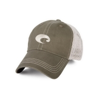 Бейсболка COSTA DEL MAR Mesh Hat цв. Moss / Stone