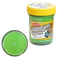 Паста BERKLEY PowerBait Natural Scent Glitter TroutBait аттр. Пелец цв. Весенний зеленый