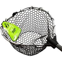 Подсачек TSURIBITO NET TRAP Fold c черной сеткой, складной, длина 150 см, диаметр 38 см