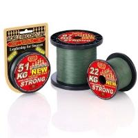 Плетенка WFT Strong New Green 300 м 0,12 мм цв. Зеленый