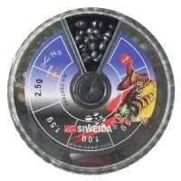 Набор грузов SIWEIDA № 2 70 гр. для поплавка силиконовый