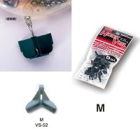 Защита для крючка MEIHO Versus VS-52 M with header (8 шт.) цв. серый