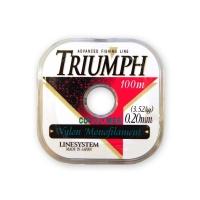 Леска LINE SYSTEM Triumph Pure 0,14 мм