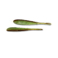 Слаг DAIWA Logan Goby 4 (7 шт.) цв. Chart Green Seed