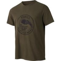 Футболка HARKILA Wildlife Bear t-shirt цвет Willow green