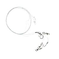 Поводок форелевый жерличный ZETTECH с пружиной, 100% Fluoro (3 шт.) (к № 8, дл. 40 см)