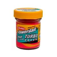 Паста форелевая BERKLEY PowerBait Turbo Dough цв. розовый лимонад
