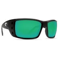 Очки COSTA DEL MAR Permit 580 P р. XL цв. Matte Black цв. ст. Green Mirror