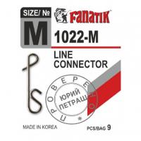 Застежка безузловая FANATIK 1022 р. M (9 шт.)