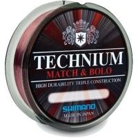 Леска SHIMANO Technium Match Line 150 м 0,16 мм цв. Бордовый