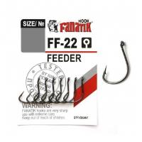 Крючок одинарный FANATIK FF-22 Feeder № 10 (8 шт.)