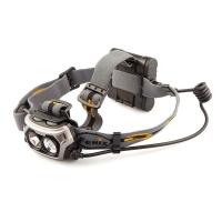 Фонарь налобный FENIX HP25 серый с батарейками