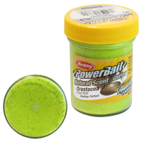 Паста форелевая BERKLEY Powerbait Natural Scent Glitter Trout Bait аттр. Пелец цв. Шартрез