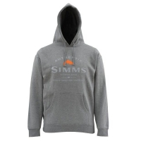 Толстовка SIMMS Badge of Authenticity цвет Gunmetal Heather