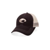 Бейсболка COSTA DEL MAR Mesh Hat цв. Black / Stone