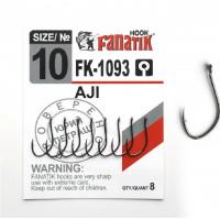 Крючок одинарный FANATIK FK-1093 Aji № 10 (8 шт.)