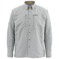 Рубашка SIMMS Bugstopper LS Shirt Solid цвет smoke