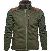 Толстовка SEELAND Dyna knit fleece цвет Forest Green