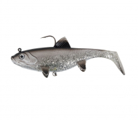 "Виброхвост FOX RAGE Replicant Wobble 7"" цв. Silver Baitfish"