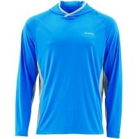 Футболка SIMMS Solarflex Hoody цвет Blue Harbour