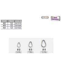 Кольцо заводное DECOY R-10 Egg Ring № 4