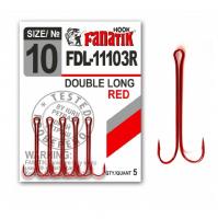 Крючок двойной FANATIK FDL-11103R № 10 (5 шт.)