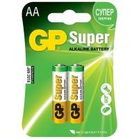 Батарейка GP Super alkaline AA LR06-2BL (15A-2CR2) тип АА (2 шт.)