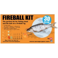 Набор оснастки SAVAGE GEAR Fireball Pro Pack Kit (30 шт.)