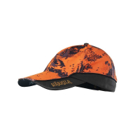 Бейсболка HARKILA Lynx Safety Light Cap цв. AXIS MSP Orange Blaze / Shadow brown