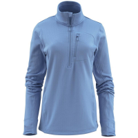 Пуловер SIMMS Women's Fleece Midlayer 1/2 Zip цвет Sky Blue