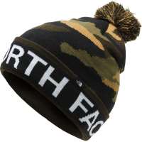 Шапка THE NORTH FACE Ski Tuke V Beanie цв. Burnt Olive Green Woods Camo