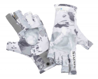 Перчатки SIMMS Solarflex Sunglove цвет Cloud Camo Grey