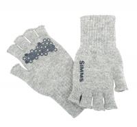 Перчатки SIMMS Wool Half Finger Glove цвет Cinder