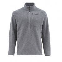 Пуловер SIMMS Rivershed Sweater Quarter Zip цвет Steel