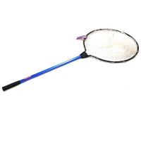 Подсачек KAHARA Rubber Landing Net для форели обруч D-45 см, гл. 30 см, рукоять 70 см синяя