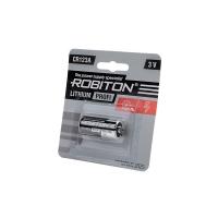 Батарея ROBITON PROFI CR123A BL1 3.0V