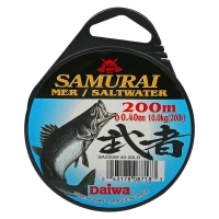 Леска DAIWA Samurai Saltwater 200 м 0,40 мм