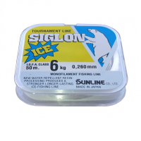 Леска SUNLINE Siglon V Ice Fishing 50 м цв. прозрачный № 1,5