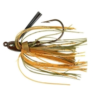 Бактейл STRIKE KING Bitsy Bug mini jig 1,75 г (1/16 oz) цв. green crayfish