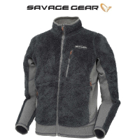 Толстовка SAVAGE GEAR Simply Savage High Loft Fleece цвет серый