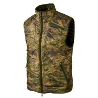 Жилет HARKILA Lynx Insulated Reversible Waistcoat цвет Willow green / AXIS MSP Forest green