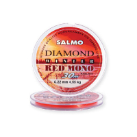 Леска SALMO Diamond Winter Red Mono 30 м 0,2 мм цв. красный