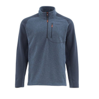 Пуловер SIMMS Rivershed Sweater Quarter Zip цвет Dark Moon