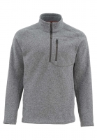 Пуловер SIMMS Rivershed Sweater Quarter Zip цвет smoke