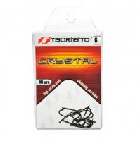 Крючок одинарный TSURIBITO Crystal BN № 14 (10 шт.)
